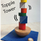 Wooden Topple Tower Stacking Game