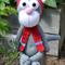 Crochet Cat in a Hat toy