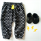 Black Cross Harem Pants - baby, toddler, winter, white, novelty, boy, neon