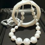 Teething Baby Australia ♡ Teething Pearls chew Necklace beads FREE BANGLE & POST