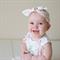 Fabric Knot Headband Pink Peter Rabbit Newborn - Adult sizes