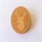 Handmade Wooden Deer Brooch - laser cut, wood, retro, vintage