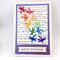 Birthday Card - Dragonfly cascade
