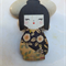 Japanese Doll Brooch