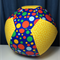 Balloon Ball - Fabric Cover - yellow/bright spots