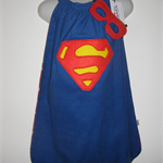 Superman inspired Cape & mask
