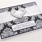 Handmade Card - Congratulations On Your Wedding Day