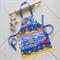 Kids Apron Cheeky Pirates - lined kitchen/craft/art/play apron - pirate print