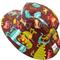 Toddler Hat ~ Dino Dudes ~ Wide Brim ~ 50cm