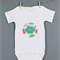Baby monthly onesie stickers - Floral 1