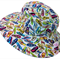 Toddler Hat ~ Summer Fun ~ Wide Brim ~ 50cm