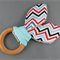 Teething Ring - Celebration Zig Zag