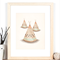 Teepees A4 Tribal Art Print