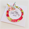 Happy Mothers Day Nan multi-coloured floral design with butterfly handmade card