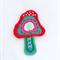 Motif, Crochet Mushroom, T-shirt Badge, Clothing Motif, Beaded motif, Bling.