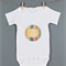 Baby monthly onesie stickers - Tribal