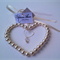 White Love Charm - Brides Good Luck Charm - Brides Good Luck Charms