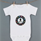 Baby monthly onesie stickers - Monsters