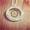 Circle Of Love Pendant/ medium/  Hand Stamped/ pendant/ Jewellery/ Necklace