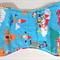 Handmade burp cloths - Globe Trotting Gnomes