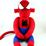 'Spiderman' the Sock Monkey (Superhero) - *ready to post*