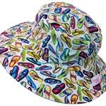 Toddler Hat ~ Summer Fun ~ Wide Brim ~ 50cm