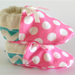 Baby shoes stay on/soft soled, eco-friendly, warm bamboo fleece lined.