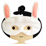 White Rabbit Felt Mask 