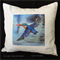 Cushion Cover, Kingfisher,  Bird Wildlife, Art, Throw Pillow Decorative Cushion