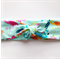 Knot Headband - Aqua Flamingo