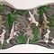 Handmade burp cloths - Camo Dinosaurs