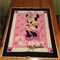 """It's all about Minnie"" Minnie Mouse Cot Panel Quilt"