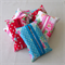 Tissue Pouches, Travel , Pocket tissue pouches. Red roses, blue roses, pink rose