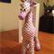 Bonnie the Giraffe, Handmade soft toy