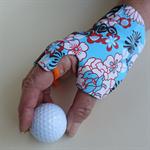 Glove: sunglove for golf, right hand, sunprotection, fingerless