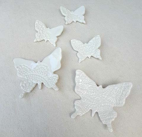 Butterfly wall art. Wall decor. Wall decoration. Baby room. White Butterflies & Butterfly wall art. Wall decor. Wall decoration. Baby room. White ...
