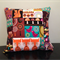 Woodland Wonderland Patchwork Quilted Pillow Cover