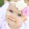 Tallulah Blossom Headband - Pink & Ivory - Felt - Baby/Girl Accessory