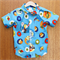Boys Classic Oxford Button Up Shirt. Size 4