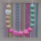 Silicone Teething Necklace- Minty Blush