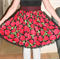 Red Roses Reversible Apron