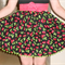 Red Cherries Reversible Apron