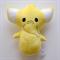 Yellow Elephant Rattle Toy