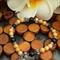 Riverstone/Onyx Stretch Bracelet