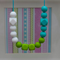 Silicone Teething Necklace- Autumn Evergreen