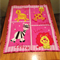 Zoo Animal Four Squares Quilted Cot Panel