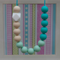 Silicone Teething Necklace- A Touch of Geo