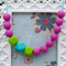 Silicone Teething Necklace- Dreamy Surprise