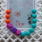 Silicone Teething Necklace- Summer Lovin