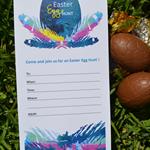 Easter Egg Hunt Invitations x 10